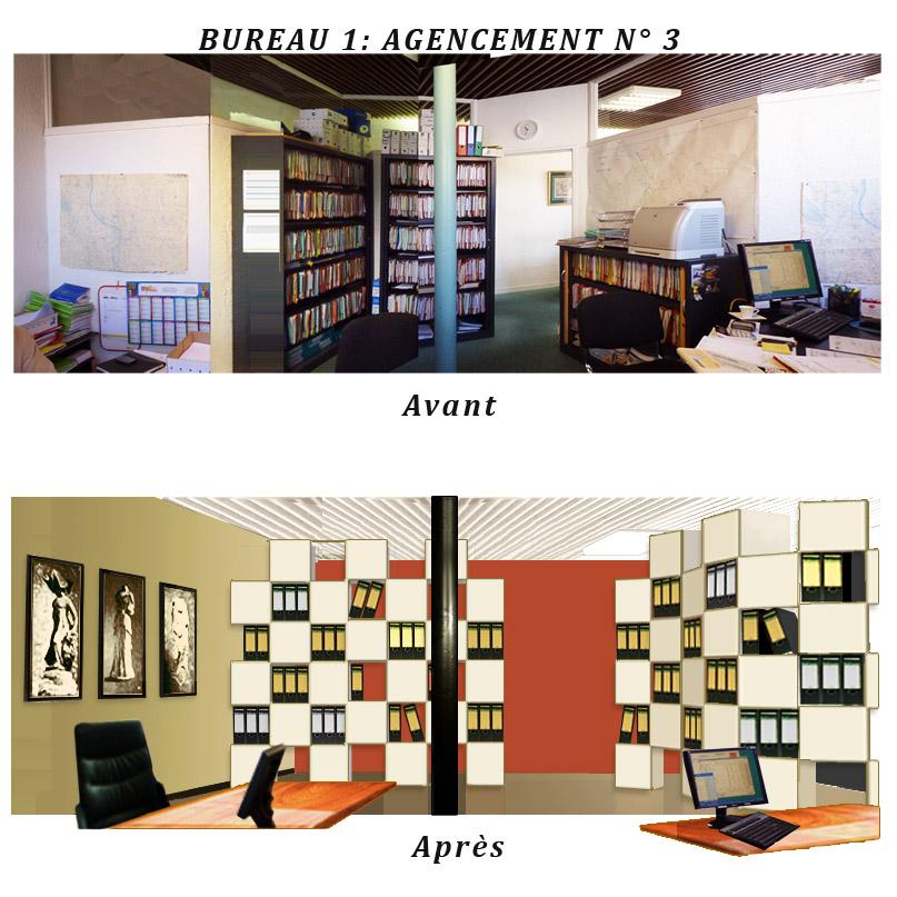 Bureau d'agence immobilière