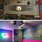 Rénovation Transformation bar classique en bar karaoké Box sur Toulouse 2020