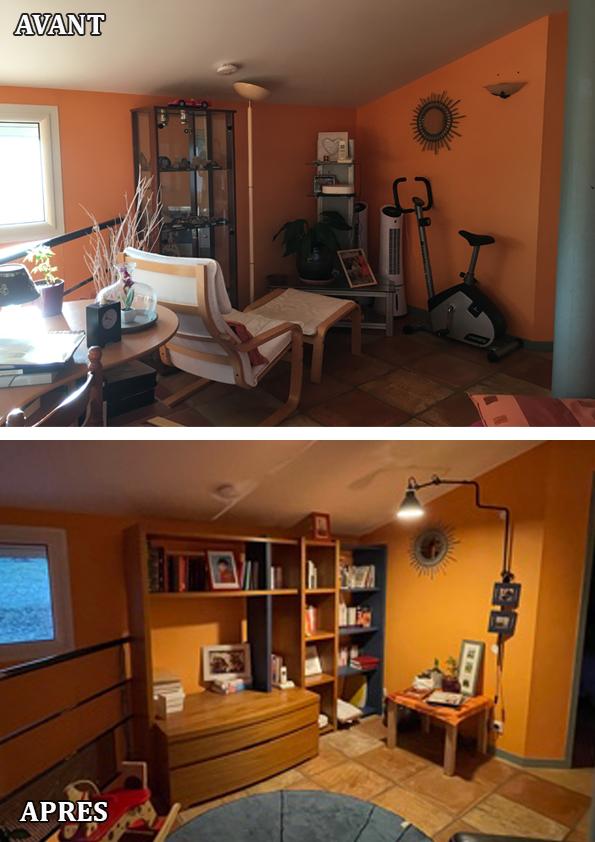 Aménagement mezzanine en espace jeu